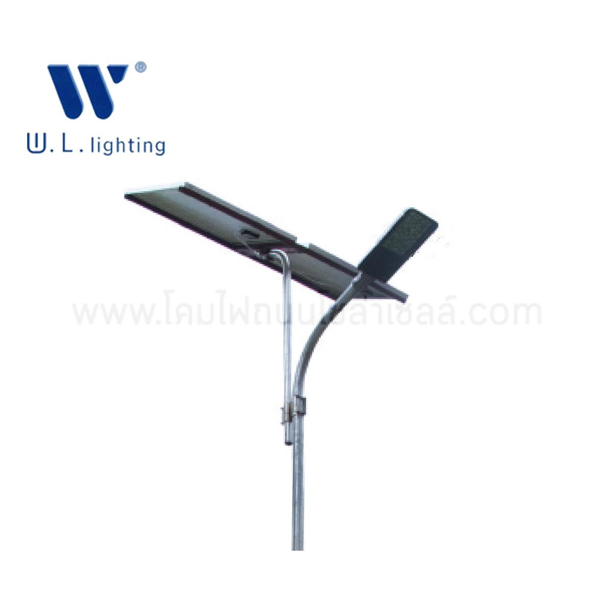 โคมไฟถนนโซล่าเซลล์ 20W GK-A W.L. lighting