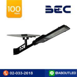 โคมไฟถนนโซล่าเซลล์ LED 100W BEC PASO